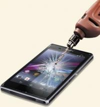 billigamobilskydd.seSkärmskydd av härdat glas Sony Xperia V (LT25i)