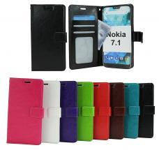 billigamobilskydd.seCrazy Horse Wallet Nokia 7.1