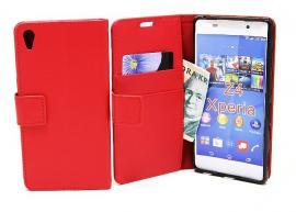 billigamobilskydd.seStandcase TPU wallet Sony Xperia Z3+ (E6553) Röd