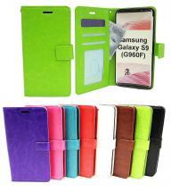 billigamobilskydd.seCrazy Horse Wallet Samsung Galaxy S9 (G960F)