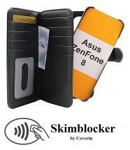 CoverInSkimblocker XL Magnet Fodral Asus ZenFone 8 (ZS590KS)