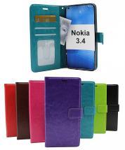billigamobilskydd.seCrazy Horse Wallet Nokia 3.4