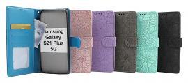 billigamobilskydd.seFlower Standcase Wallet Samsung Galaxy S21 Plus 5G (G996B)
