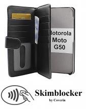 CoverInSkimblocker XL Wallet Motorola Moto G50