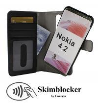 CoverInSkimblocker Magnet Fodral Nokia 4.2