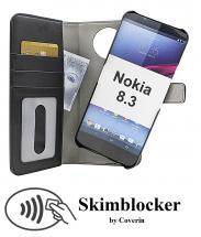 CoverInSkimblocker Magnet Fodral Nokia 8.3