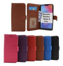 billigamobilskydd.seNew Standcase Wallet Xiaomi Redmi Note 6 Pro