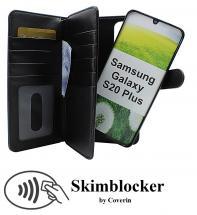 CoverInSkimblocker XL Magnet Fodral Samsung Galaxy S20 Plus (G986B)