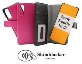 CoverInSkimblocker Magnet Fodral Sony Xperia 10 III (XQ-BT52)
