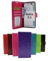 billigamobilskydd.seCrazy Horse Wallet Nokia 5.3