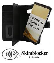 CoverInSkimblocker XL Magnet Fodral Samsung Galaxy S10 Plus (G975F)