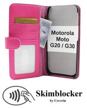 CoverInSkimblocker Plånboksfodral Motorola Moto G20 / Moto G30