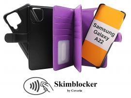 CoverInSkimblocker XL Magnet Fodral Samsung Galaxy A22 (SM-A225F/DS)