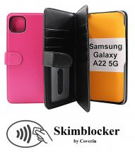 CoverInSkimblocker XL Wallet Samsung Galaxy A22 5G (SM-A226B)