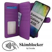 billigamobilskydd.seSkimblocker XL Magnet Wallet Samsung Galaxy A50 (A505FN/DS)
