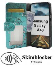 CoverInSkimblocker Designwallet Samsung Galaxy A40 (A405FN/DS)
