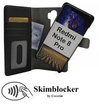 billigamobilskydd.seSkimblocker Magnet Wallet Xiaomi Redmi Note 8 Pro
