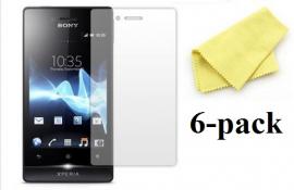billigamobilskydd.seSony Xperia Miro skärmskydd 6-pack