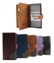billigamobilskydd.seXL Standcase Lyxfodral Samsung Galaxy A72 (SM-A725F/DS)