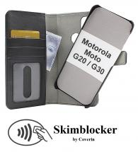 CoverInSkimblocker Magnet Fodral Motorola Moto G20 / Moto G30