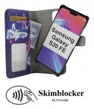 CoverInSkimblocker Magnet Designwallet Samsung Galaxy S20 FE / S20 FE 5G