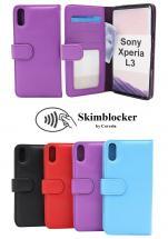 CoverInSkimblocker Plånboksfodral Sony Xperia L3
