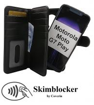 CoverInSkimblocker XL Magnet Fodral Motorola Moto G7 Play