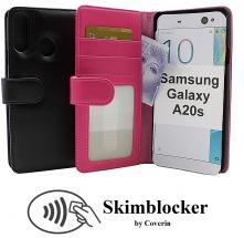 CoverInSkimblocker Plånboksfodral Samsung Galaxy A20s (A207F/DS)