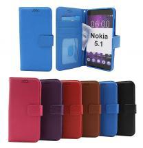 billigamobilskydd.seNew Standcase Wallet Nokia 5.1
