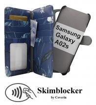 CoverInSkimblocker XL Magnet Designwallet Samsung Galaxy A02s