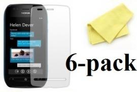 billigamobilskydd.seNokia Lumia 710 skärmskydd 6-pack