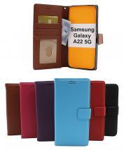 billigamobilskydd.seNew Standcase Wallet Samsung Galaxy A22 5G (SM-A226B)