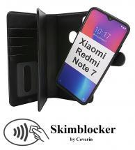 CoverInSkimblocker XL Magnet Fodral Xiaomi Redmi Note 7
