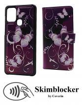 billigamobilskydd.seSkimblocker Magnet Designwallet Samsung Galaxy A21s (A217F/DS)