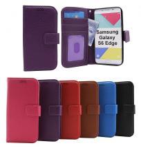 billigamobilskydd.seNew Standcase Wallet Samsung Galaxy S6 Edge (G925F)