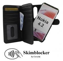 CoverInSkimblocker XL Magnet Fodral Nokia 4.2