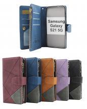 billigamobilskydd.seXL Standcase Lyxfodral Samsung Galaxy S21 5G (SM-G991B)