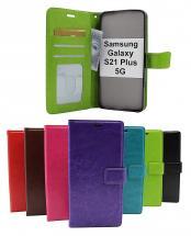 billigamobilskydd.seCrazy Horse Wallet Samsung Galaxy S21 Plus 5G (G996B)