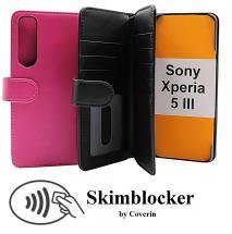 CoverInSkimblocker XL Wallet Sony Xperia 5 III (XQ-BQ52)