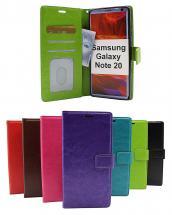 billigamobilskydd.seCrazy Horse Wallet Samsung Galaxy Note 20 5G (N981B/DS)