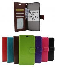 billigamobilskydd.seCrazy Horse Wallet Samsung Galaxy S21 Ultra 5G (G998B)
