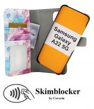 CoverInSkimblocker Magnet Designwallet Samsung Galaxy A22 5G (SM-A226B)