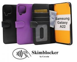 CoverInSkimblocker Plånboksfodral Samsung Galaxy A22 (SM-A225F/DS)