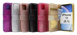 billigamobilskydd.seStandcase Glitter Wallet iPhone 11 (6.1)