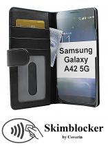 CoverInSkimblocker Plånboksfodral Samsung Galaxy A42 5G