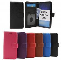 billigamobilskydd.seNew Standcase Wallet Sony Xperia Z5 (E6653)