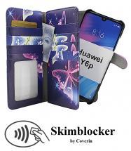 CoverInSkimblocker XL Magnet Designwallet Huawei Y6p