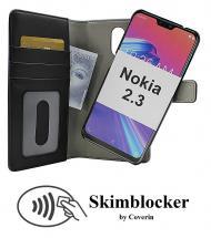 CoverInSkimblocker Magnet Fodral Nokia 2.3
