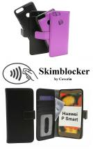 billigamobilskydd.seSkimblocker Magnet Wallet Huawei P Smart (FIG-LX1)