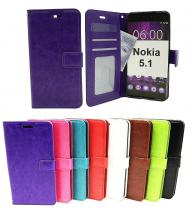 billigamobilskydd.seCrazy Horse Wallet Nokia 5.1